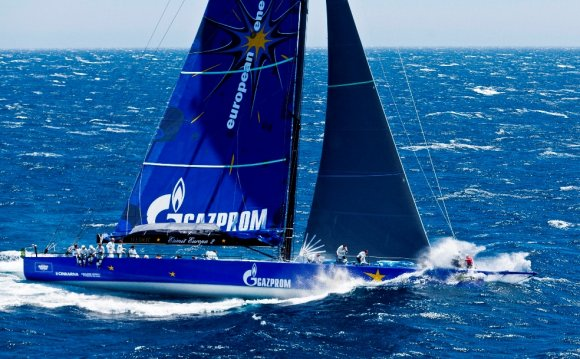 Europe s fastest sailing yacht