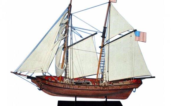Wooden Model Ship Prince de