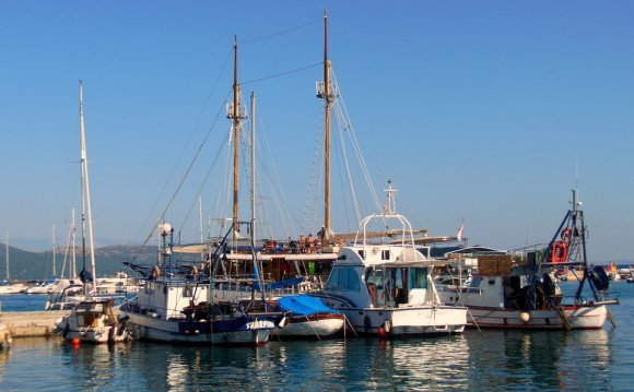 Free photo Ships Island Of Krk