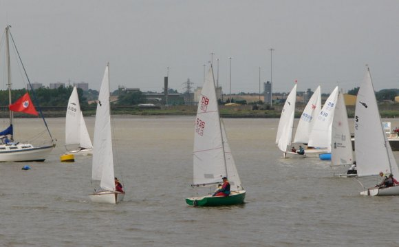 At Gravesend Sailing Club