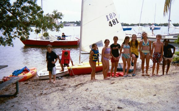 Miami, sailing school