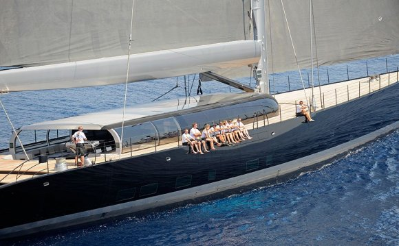 Sailing yacht AGLAIA by