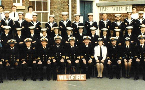 HMS WILDFIRE Ships Company