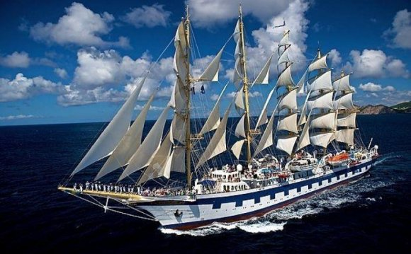 The Largest Sailing Ships