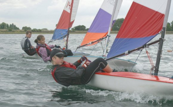 Topper Team Racing at Island