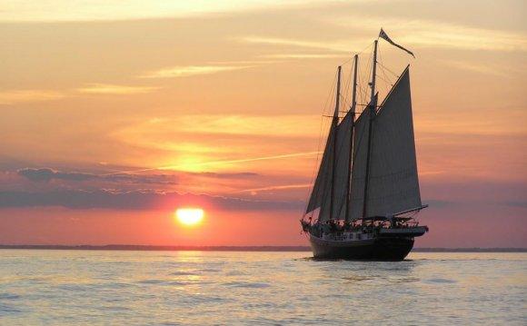 Alliance at sunset