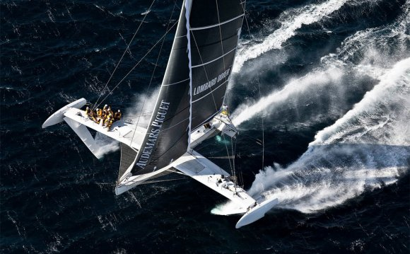 The fastest sailboats in