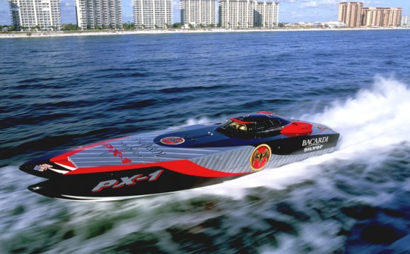 Offshore Race boats