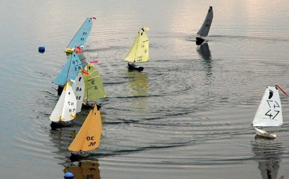 RC Model sailing Yachts