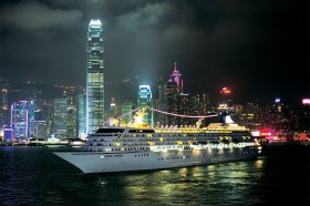 amazingly Symphony in Hong-Kong during the night
