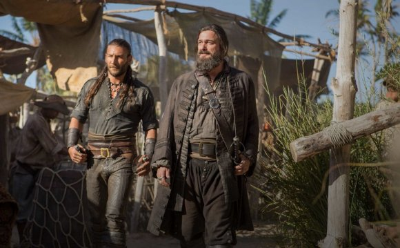 Black Sails cast Blackbeard