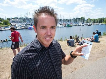 Miles Hammond is an associate of the Nepean Sailing Club just who received a parking pass for parking regarding grass at Dick Bell Park on Monday. People in the club and Pokémon Go players, seen within the background, happen contending for parking places on playground, that has been a favorite place for getting Pokemon.