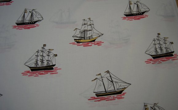 Sailing boat fabric