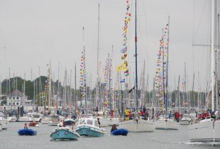 Royal Air Force Yacht Club from the Hamble