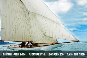 Sailing Photography - Old sailing vessel within the Vele d'Epoca CUP, Imperia, Italy