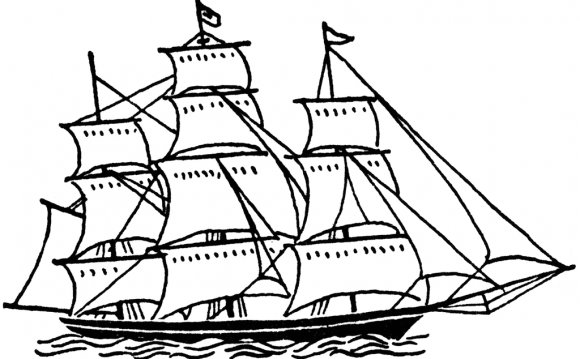 Sailing ship Clipart