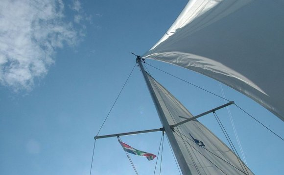 Yacht sails types
