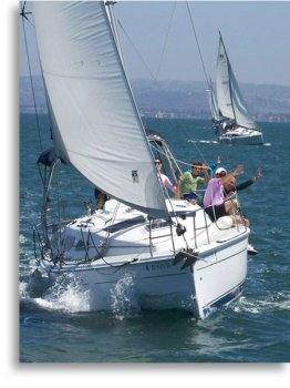 San Diego Sailing Club and Long Beach Sailing Club