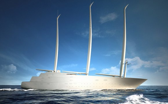 Largest sailing Yacht in the world