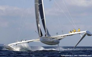 the whole world's Fastest Sailboat