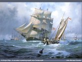 Corvette sailing ship