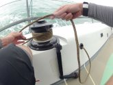 Sailing winch handle