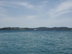 View regarding the Bay of Islands from afar