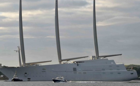 Largest Sailboat